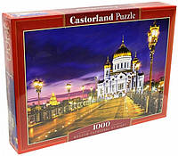 Пазлы 1000 элементов Castorland 103355 Храм Христа Спасителя