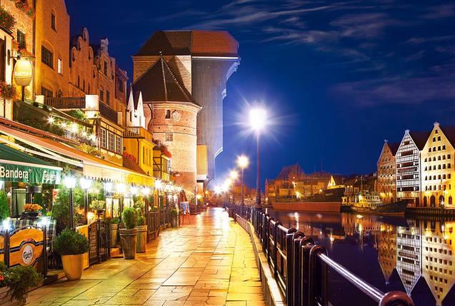 Пазлы Castorland 103379 Береговая линия ночью, Гданьск, фото 2