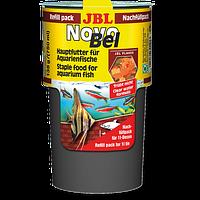 Корм для аквариумных рыб JBL NovoBel (Новобел) хлопья, 750мл/130г  экономная упаковка