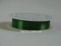 Тонкая зеленая проволока (d=0.3 мм) на бобинке.