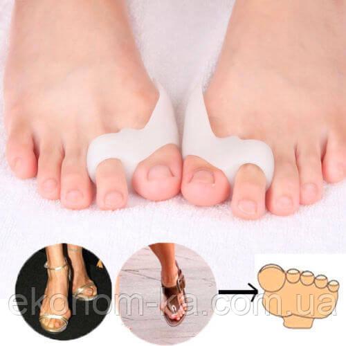 Межпальцевая перегородка с кольцами на 2 пальца и защитой косточки Valgus  Pro