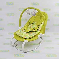 Детская качалка-колыбель BT-BB-0004 (зеленая)