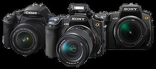 Дзеркальні фотоапарати