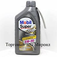Моторное масло Mobil Super 3000 X1 Formula FE 5W-30 канистра 1л