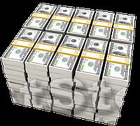 Деньги 9 Вафельная картинка