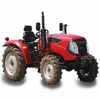 Минитрактор(трактор) DW404XE (4 цил,4 гидровыхода, компрессор, сиденье на пружине, доп. грузы,7,50-16/11,2-24)