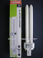 Компактная люминесцентная лампа OSRAM DULUX D 26W/840 G24d-3 Китай