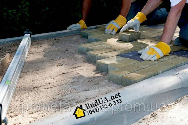 Укладання тротуарної плитки за вигідною ціною. (044) 332-0-332