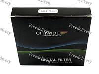 Светофильтр нейтрально-серый ND4 77мм CITIWIDE