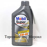 Моторное масло Mobil Super 3000 X1 Diesel 5W-40  канистра 1л