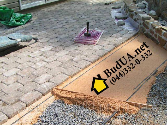 Подготовка основания под тротуарную плитку по выгодной цене. (044) 332-0-332