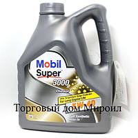 Моторное масло Mobil Super 3000 X1 Diesel 5W-40  канистра 4л