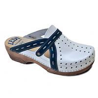 Обувь анатомическая - сабо кожаные женские