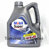 Моторное масло Mobil Super 2000 10W-40 канистра 4л
