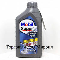 Моторное масло Mobil Super 2000 X1 Diesel 10W-40 канистра 1л