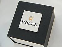 Универсальная подарочная коробка для наручных часов c логотипом Rolex на лицевой стороне