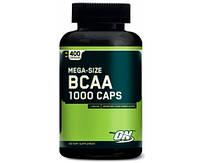 Optimum Nutrition  Mega-Size BCAA 1000 400 cap