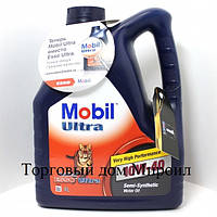 Моторное масло Mobil Ultra 10W40 канистра 4л