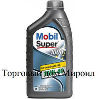Моторное масло Mobil Super 1000 15W-40 канистра 1л