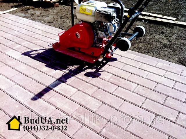 Вибротрамбовка тротуарной плитки по выгодной цене. (044) 332-0-332