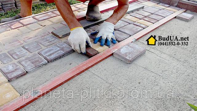 Укладка тротуарной плитки. (044) 332-0-332