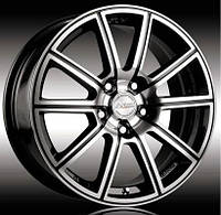 Литые диски Racing Wheels H-423 BK-F/P W7 R16 PCD4x108 ET40 DIA67.1