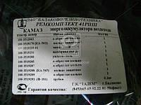 Ремкомплект энергоаккумулятора вездехода КАМАЗ №41РПШ (производитель БРТ) Ремкомплект 41рпш