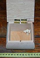 Шкатулка деревянная под роспись(квадрат)