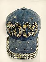 Кепка женская джинсовая купить оптом размер 56-57 недорого 7 километр