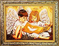 Икона из янтаря Как летать (Картины и иконы из янтаря)