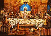 Икона из янтаря Тайная Вечеря (Картины и иконы из янтаря)