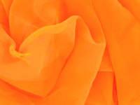 Шифон ярко-оранжевый fluo