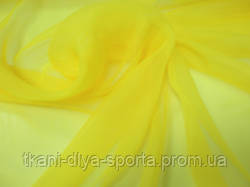 Шифон желтый