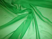 Шифон зеленый
