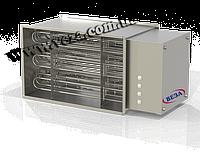 Нагреватель водяной канальный электрический Канал-ЭКВ-90-50-90