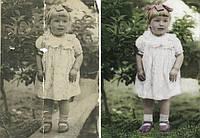 Реставрация старой фотографии