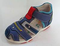Детские босоножки кожаные для мальчиков ортопед  Том.М. 21