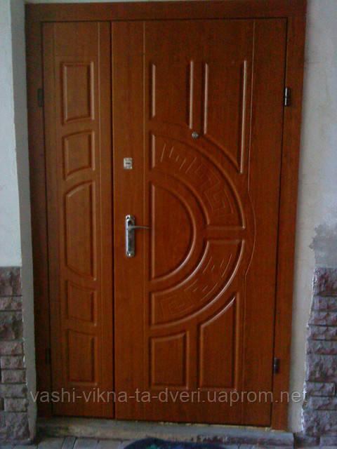 Двери входные полуторка в квартиру Стандарт. - Вікна Двері для оселі в Львове