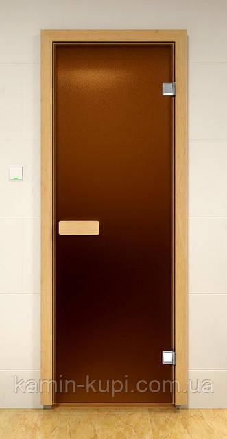 Матовая дверь для сауны SAUNA MARKET 690х1890 мм