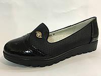 Туфли школьные для девочек детские, подростковые  ТОМ.М. 30 31  35 36