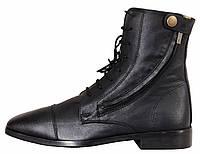 Ботинки для конного спорта  женские кожанные