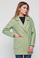 """Пальто-пиджак """"Бланка"""" мятное"""