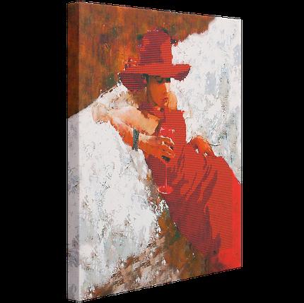 "Схема для вышивания бисером ""Lady in Red"", фото 2"