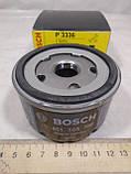 Фильтр масляный Рено Логан D Bosch, фото 3