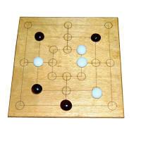 Настольная игра - Мельница (Nine Men Morris)