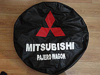 Чехол для запасного колеса Mitsubishi Pajero. И много других!