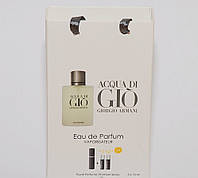 Giorgio Armani Acqua di Gio мини парфюмерия в подарочной упаковки 3х15ml DIZ