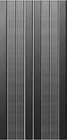 Плитка Дуал Грес Бакси Лайн Блэк 300*600 Dual Gres Buxy Line Black плитка настенная для ванной.