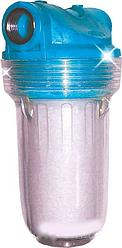 """Фильтр-колба умягчающий  для котлов Bio+Systems SL25 1/2""""+соль"""