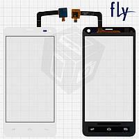 Сенсорный экран (touchscreen) для Fly IQ4416, белый, оригинал